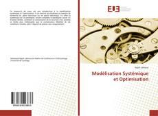 Couverture de Modélisation Systémique et Optimisation