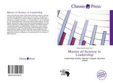 Portada del libro de Master of Science in Leadership