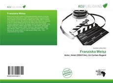 Bookcover of Franziska Weisz