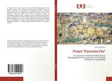 """Portada del libro de Projet """"Ziyarates Fès"""""""