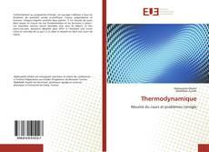 Couverture de Thermodynamique