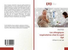 Capa do livro de Les allergiques respiratoires chez le sujet âgé