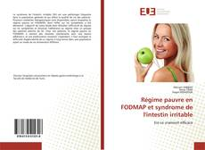 Bookcover of Régime pauvre en FODMAP et syndrome de l'intestin irritable