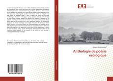 Buchcover von Anthologie de poésie écologique