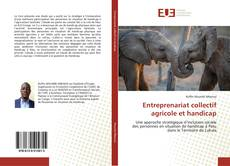 Bookcover of Entreprenariat collectif agricole et handicap