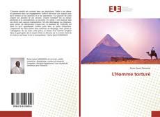 Buchcover von L'Homme torturé