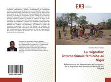 Bookcover of La migration internationale féminine au Niger