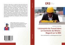 Couverture de L'économie du Travail dans un Contexte de Misère : Regard sur la RDC