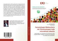 Portada del libro de Semeiologie Moleculaire de l'Onomatopee iode microbiote obesite
