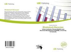 Bookcover of Bhabatosh Banerjee