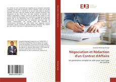 Обложка Négociation et Rédaction d'un Contrat d'Affaire
