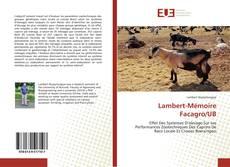 Couverture de Lambert-Mémoire Facagro/UB