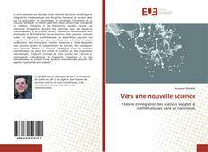 Bookcover of Vers une nouvelle science