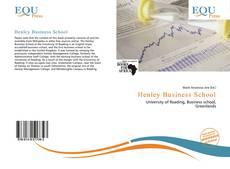 Bookcover of Henley Business School