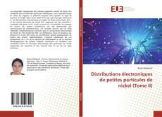 Distributions électroniques de petites particules de nickel (Tome II) kitap kapağı