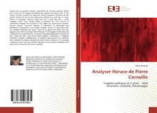 Analyser Horace de Pierre Corneille kitap kapağı