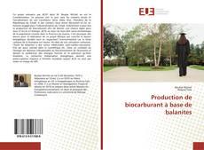 Couverture de Production de biocarburant à base de balanites