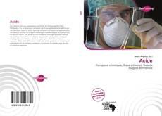 Buchcover von Acide