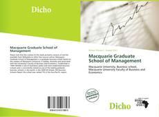 Portada del libro de Macquarie Graduate School of Management