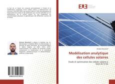 Bookcover of Modélisation analytique des cellules solaires