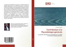 Bookcover of Contribution à la Thyroidologie générale