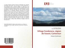 Buchcover von Village Fondenera, région de l'ouest, Cameroun