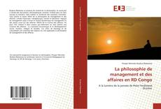 Bookcover of La philosophie de management et des affaires en RD Congo