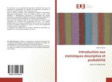 Bookcover of Introduction aux statistiques descriptive et probabilité
