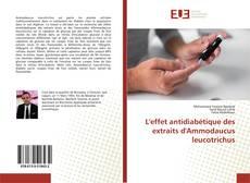 L'effet antidiabétique des extraits d'Ammodaucus leucotrichus的封面