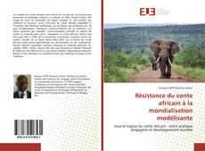 Copertina di Résistance du conte africain à la mondialisation modélisante