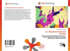 Bookcover of Lt. Raymond Enners Award