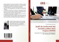 Обложка Audit de conformité des marchés publics dans l'espace UEMOA