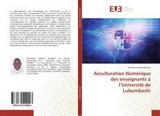 Bookcover of Acculturation Numérique des enseignants à l'Université de Lubumbashi