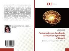 Capa do livro de Particularités de l'épilepsie associée au syndrome d'Aicardi