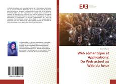 Capa do livro de Web sémantique et Applications: Du Web actuel au Web du futur