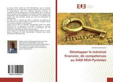 Bookcover of Développer le mécénat financier, de compétences au SIAD Midi-Pyrénées
