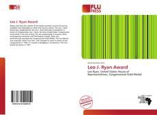 Bookcover of Leo J. Ryan Award