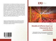 Bookcover of Modèle d'affaires basé sur l'économie de la contribution