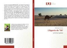 """Copertina di L'Agonie de """"YA"""""""