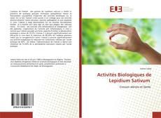 Borítókép a  Activités Biologiques de Lepidium Sativum - hoz