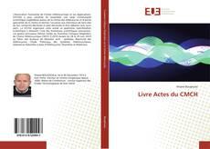Capa do livro de Livre Actes du CMCH