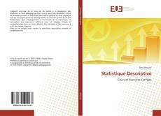 Statistique Descriptive kitap kapağı