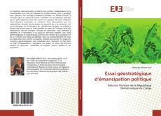 Copertina di Essai géostratégique d'émancipation politique
