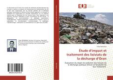 Portada del libro de Étude d'impact et traitement des lixiviats de la décharge d'Oran