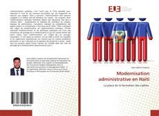 Capa do livro de Modernisation administrative en Haïti