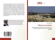 Copertina di Mines et carrières