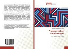 Programmation mathématique的封面