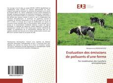 Bookcover of Evaluation des émissions de polluants d'une ferme