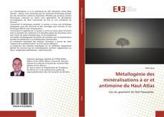 Portada del libro de Métallogénie des minéralisations à or et antimoine du Haut Atlas
