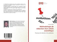 Capa do livro de Méthodologie de rédaction d'un article scientifique